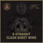 Atlanta United sets the MLS record for consecutive clean sheet wins: five wins, five clean sheets