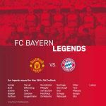 Here's FC Bayern Legends squad to face Manchester United Legends on 26th May.