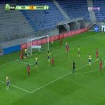 FC Sochaux 1-[1] Grenoble - R. Grange 51' Freekick