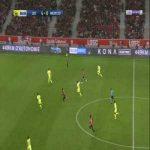 Lille 5-0 Angers - Luiz Araujo 89'