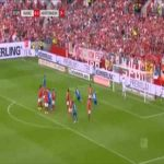 Mainz 0-2 Hoffenheim - Andrej Kramaric free-kick 34'