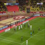 Monaco 1-0 Amiens - Radamel Falcao 26'