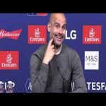 Pep Guardiola Post Match Conference vs Watford - SNAPS at a reporter
