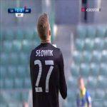 Śląsk Wrocław [3]-0 Arka Gdynia - Marcin Robak 65' (Polish Ekstraklasa)