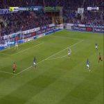 Strasbourg 0-2 Rennes - Adrien Hunou 90'