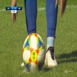 Wisła Kraków 1-[1] Miedź Legnica - Joan Román penalty 36' (Polish Ekstraklasa)