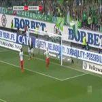 Wolfsburg 2-0 Augsburg - Wout Weghorst 37'