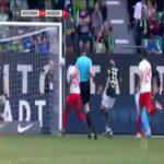Wolfsburg 5-0 Augsburg - Daniel Ginczek 57'