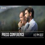 |Juventus| President Andrea Agnelli and Massimilliano Allegri's press conference.