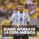 Mauro Icardi will be left out of Argentina's 23-man squad for the Copa America