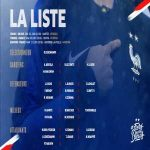 French squad for the upcoming games against Bolivia, Turkey and Andorra