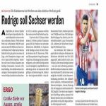 Kicker: Rodri is top target for Bayern for the number 6 position. Contacts with Leroy Sane's entourage have already been made.
