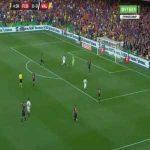 Piqué goal line clearance vs Valencia