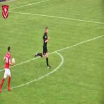 Referee scores in a game between Harkemase Boys and HSV Hoek