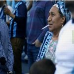 An Adana Demirspor fan after fail to qualify finals for play-off Turkish Super League.
