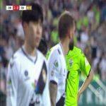 Jeonbuk [3] - 0 Gyeongnam | Kim Jin-su 61' (K League) | Nice volley