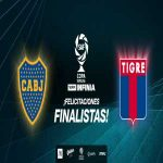 The first ever Argentine League Cup final will be played between Boca Juniors and Tigre on 2nd of June