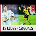 18 Clubs, 18 Goals - The Best Goal by Every Bundesliga Team in 2018/19