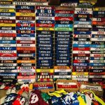Spalletti's collection of football shirts over the years
