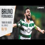 Bruno Fernandes: All Goals (Portuguese League 18/19)