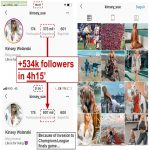 Almost naked girl who invaded Champions League Final game gained 0.5 million followers on Instagram in only 4 hours