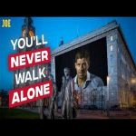 Amazing edit - Liverpool legends past and present sing You'll Never Walk Alone