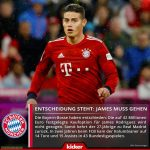 Kicker: Bayern have made the decision to not buy James Rodriguez who will be returning to Real Madrid