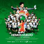 Racing Santander have been promoted to the Segunda Division