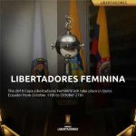 [Official] The 2019 Copa Libertadores Feminina will take place in Quito. The competition will be held from October 11th to October 27th.