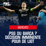 De Ligt's decision is imminent. He's ONLY choosing between Barca and PSG. There's no third team.