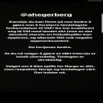 Martin Ødegaard's message to Ada Hederberg following her controversial interview