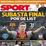 [Sport] Barcelona, PSG, Juventus, Man United and Liverpool all made a bid for De Ligt. They demand his final decision in a week.