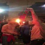England fan filmed burning Portugal scarf...in Portugal