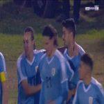 Uruguay 2-0 Panama - Luis Suarez free-kick 69'