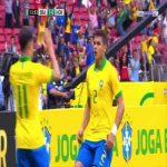 Brazil 2-0 Honduras - Thiago Silva 13'