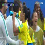 Brazil W 3-0 Jamaica W - Cristiane hattrick 64'