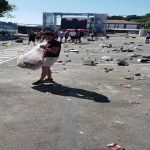 England fans helping to clean up in Portugal