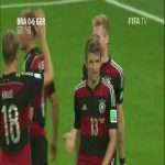 Germany celebration (6-0 WC semi-final vs Brazil) Vs USA celebration (9-0 WC group stage vs Thailand)