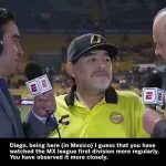 Diego Maradona has stepped down as manager of Dorados. We'll never forget this inspirational post-match interview: