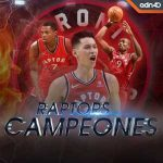 Mexican news channel announces Raptors as champions with Jeremy Lin as the leader on its twitter page