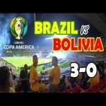 Brazil vs Bolivia live from inside the stadium
