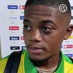 "[Island Sports] Leon Bailey post game interview ""the pitch was horrible"" (video)"