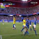 Italy(W) - Brazil(W): Giuliani great save from Debinha's heel flick