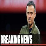 Luis Enrique steps down from Spanish national team.