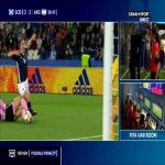 Scotland W 3-[3] Argentina W - F. Bonsegundo 90+5'👎