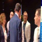 Maurizio Sarri avoids to shake hands with Momblano