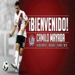 Atlético de San Luis have signed River Plate defender Camilo Mayada on a free transfer