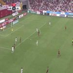 David Villa (Vissel Kobe) goal vs Oita Trinita