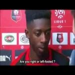 Legendary Ousmane Dembele interview.