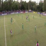 KFUM Oslo [2] - 0 HamKam - Øby 25' (Midfield goal)